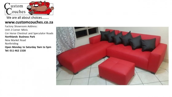 Design Your L Shape Small From R5250 At Custom Couches