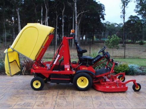 Gianni Ferrari Turbo 1 Kubota Diesel Outfront Ride On Lawn