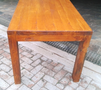Rustic refectory table for sale seats 8 to 10 people for 10 seater table for sale