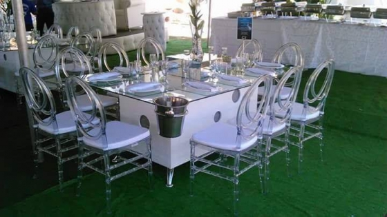10 seater glass tables for hire east rand for 10 seater table for sale