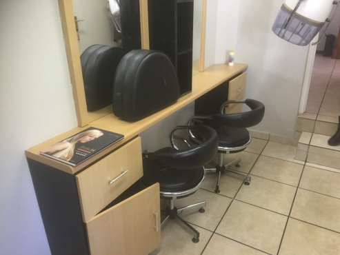 salon equipment for sale neg east rand other business items