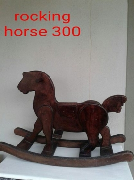wooden rocking horse for sale paarl toys 63158634 junk mail classifieds. Black Bedroom Furniture Sets. Home Design Ideas