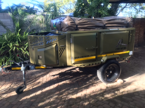 Simple Campingquad Bike Trailer For Sale  Durban  Trailers  Junk Mail
