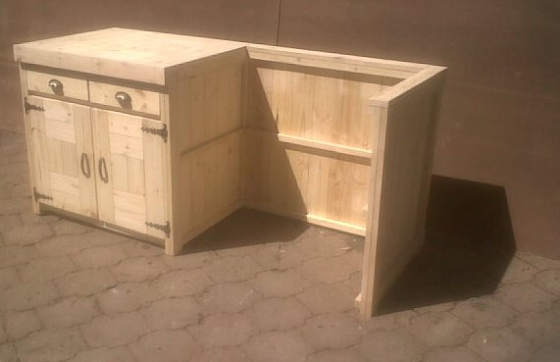 Kitchen cupboard base unit farmhouse series 1860 for gas for Kitchen units gauteng