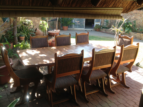 8 Seater Dining Room Table And Chairs Pretoria East