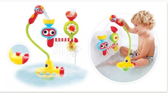 brand new yookidoo submarine spray station please what s app during office. Black Bedroom Furniture Sets. Home Design Ideas
