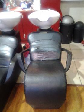 Salon furniture basin unit pretoria north other for Salon basins for sale