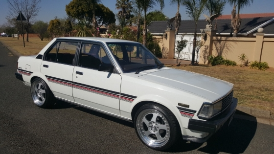 toyota corolla 1 8 gls sprinter automatic 39 1982 model south rand classic cars 64004002. Black Bedroom Furniture Sets. Home Design Ideas