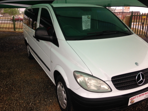 Mercedes benz 115 cdi vito 8 seater mercedes benz for Mercedes benz 2 seater