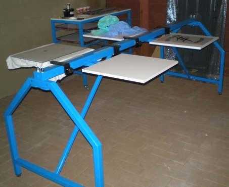 As New T Shirt Silk Screen Station For Sale Krugersdorp