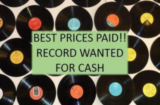 Records, LP's and Cassettes Wanted for Cash!!!