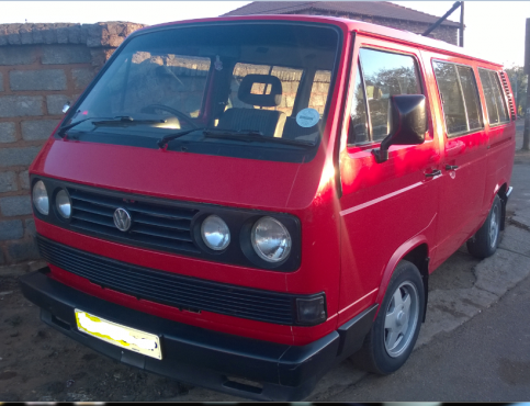 1991 Volkswagen 2 6i Microbus Minibuses And Mpvs