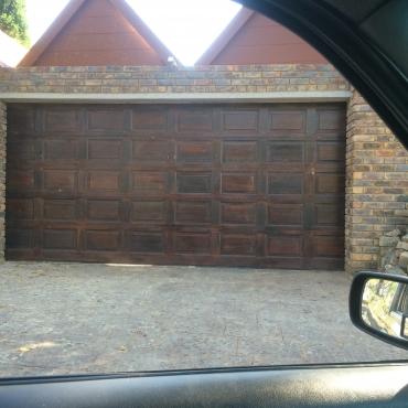 40 Panel Double Wood Garage Door Windows And Doors