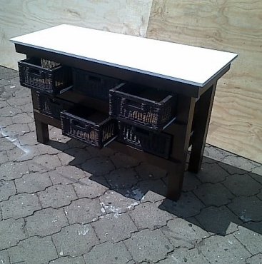Kitchen island farmhouse elegant series 1480 with extra for Kitchen island gauteng
