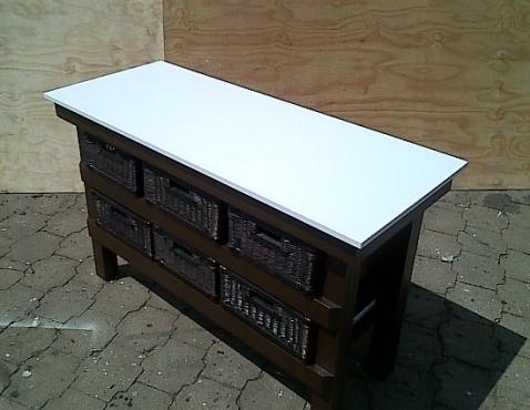 Kitchen island farmhouse elegant series 1480 with extra for Kitchen furniture johannesburg