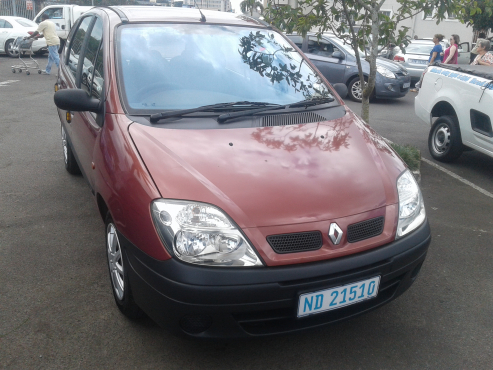 2001 renault scenic pinetown renault 65161484 junk mail classifieds. Black Bedroom Furniture Sets. Home Design Ideas