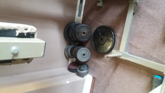 Complete home gym fitness  junk mail