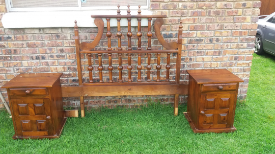 Old Solid Wood Room Set Springs Antique Furniture 65241656 Junk Mail Classifieds
