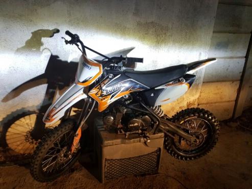 bigboy zooka pitbike 125 cc like new