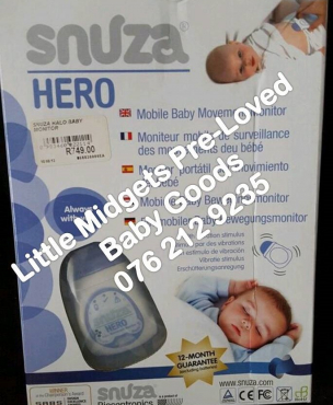 second hand snuza hero monitor please call after 5 pm pretoria east baby accessories. Black Bedroom Furniture Sets. Home Design Ideas