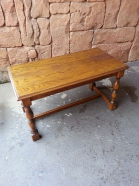 Oak coffee table 845x435x465 pretoria north antique for Coffee tables johannesburg