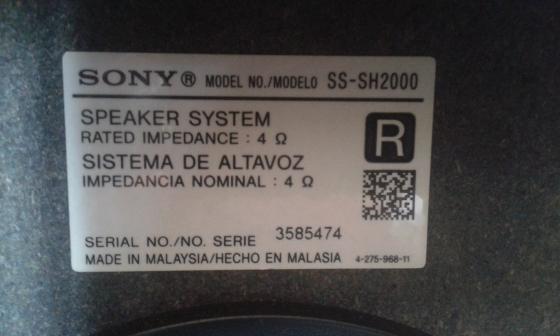 Sony Shake Hcd