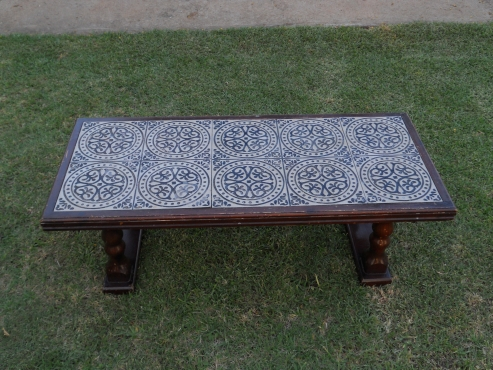 Tiled coffee table lounge furniture 65338122 junk for Coffee tables jhb