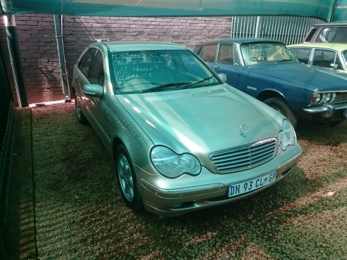 2002 mercedes benz c240 elegance auto only 82 000km s in for Mercedes benz 2002 c240 price