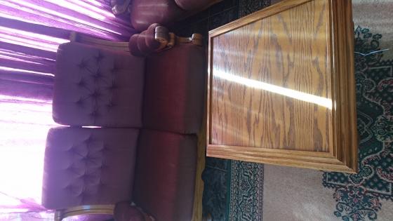 10 Piece Solid Oak Lounge And Bedroom Set