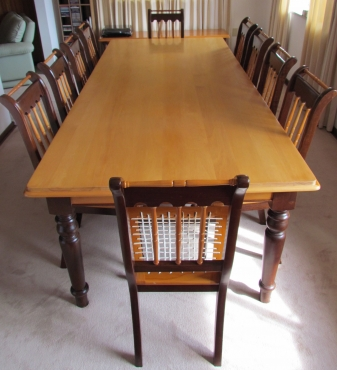 and yellow wood dining room set sandton diningroom furniture