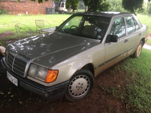 1987 mercedes benz 300e a t for sale pretoria east for 1987 mercedes benz 300e