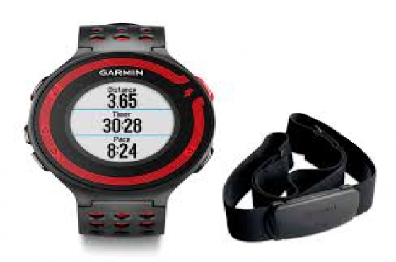 Garmin Forerunner 220 With Heart Rate Monitor Black And ...