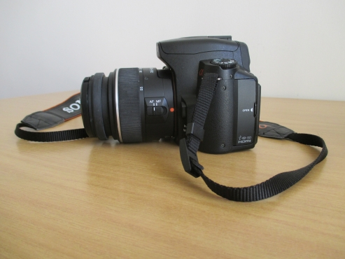 Sony DSLR-A390 Camera with 18-55mm lense + Tamron 70-300mm lense + Sony Carry Bag + more