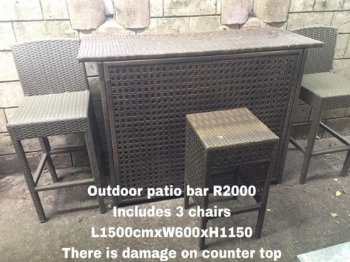 Outdoor patio bar for sale bar furniture 65112430 for Outdoor patio bars for sale