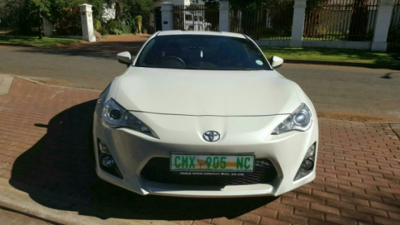 2012 Toyota 86 Beaconsfield, Diamantveld