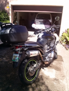 2009 Honda Transalp 700 like new