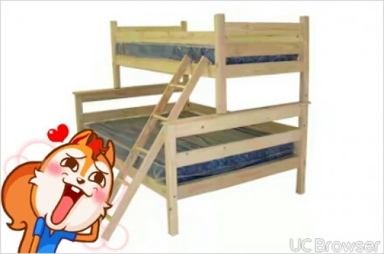 Tri bunk beds sandton bedroom furniture 65134992 for Affordable bedroom furniture johannesburg