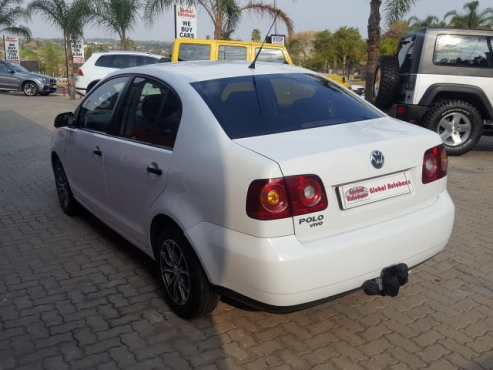 2012 119,000 VOLKSWAGEN POLO VIVO 1.4 White
