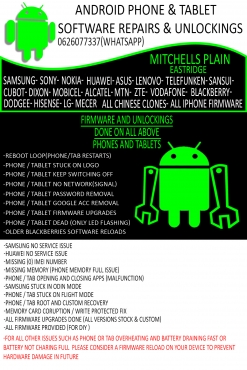 all android Phone and Tablet firmware solutions and All PC and Laptop repairs