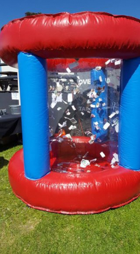 Inflatable Money Machine. Lots of fun for the kids