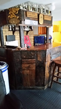 Sleeper Wood Bar Pretoria North Bar Furniture