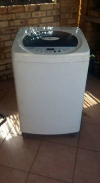 lg washing machine toploader