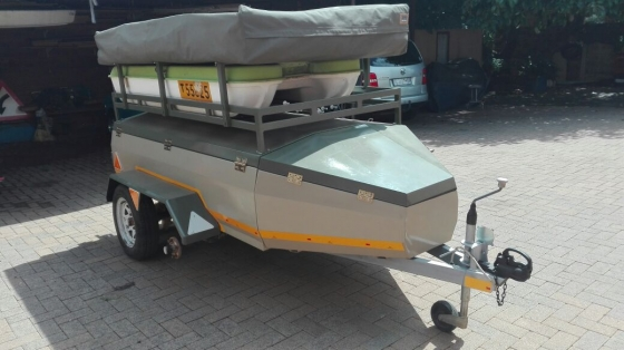 Luxury Camping Trailer For Sale   Caravans And Campers  65368630  Junk