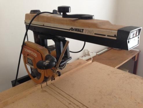 Dewalt 7740 powershop radial arm saw langebaan machinery and tools 65560560 junk mail - Garage auto pro arc les gray ...