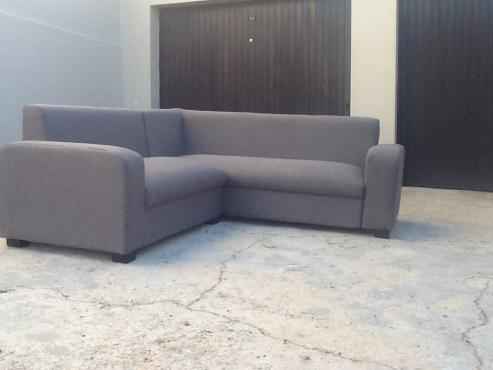 Urgent Sale New Grey Corner Lounge Suite City Bowl