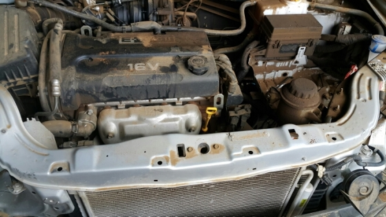 Spare Parts Mail: Stripping Chevrolet Aveo For Spare Parts