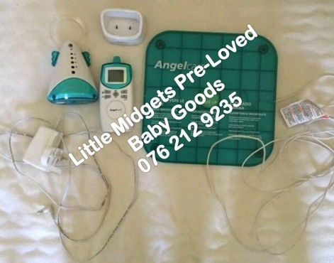 second hand angel care sound and movement monitor please call after 5 pm du. Black Bedroom Furniture Sets. Home Design Ideas