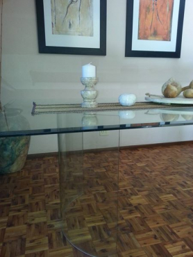 Glass dining room tables for sale