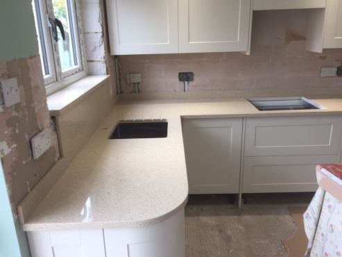 We supply and install granite marbles quarts pretoria for Kitchen installers gauteng