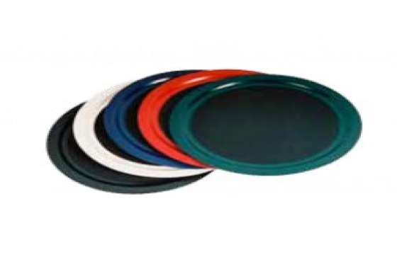 Tuff Trays round tray 400mm Black